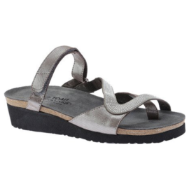 Giovanna Silver Threads-Grey W-Silver Rivets